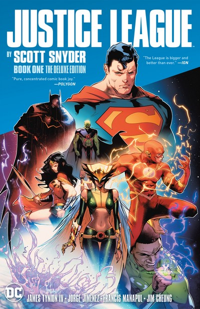 Justice League by Scott Snyder Book 1 the Deluxe Edition (2020)