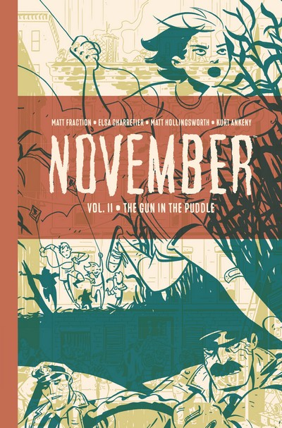November Book 2 – The Gun in the Puddle (2020)