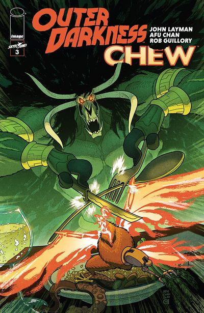Outer Darkness – Chew #3 (2020)
