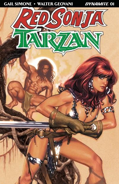 Red Sonja – Tarzan #1 – 6 (2018)