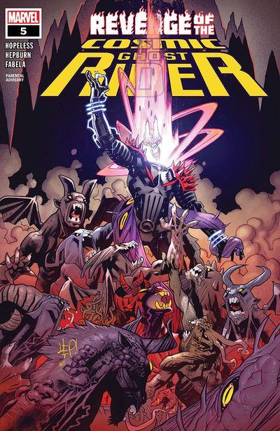 Revenge Of The Cosmic Ghost Rider #5 (2020)