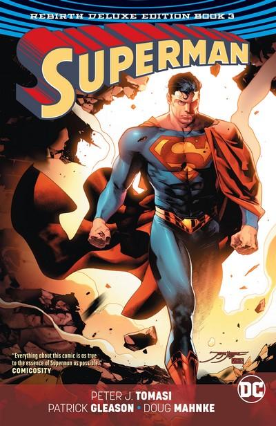 Superman – Rebirth Deluxe Edition Book 3 (2018)