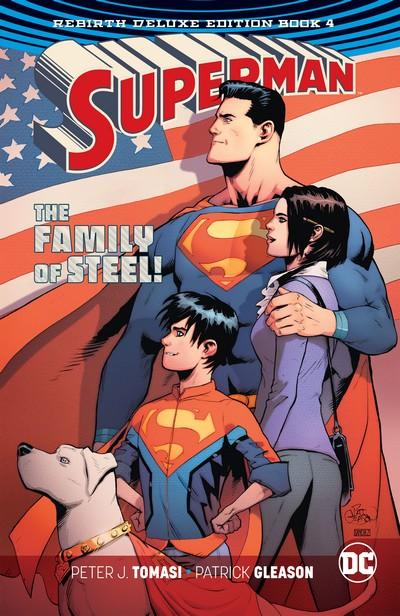 Superman – Rebirth Deluxe Edition Book 4 (2019)
