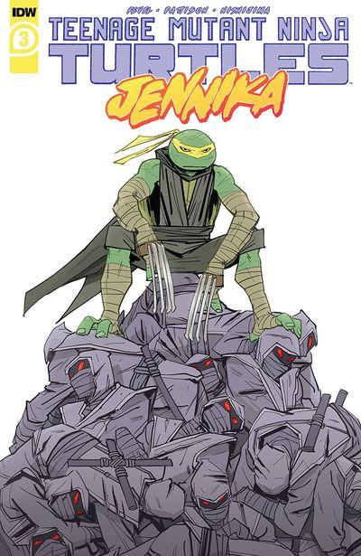 Teenage Mutant Ninja Turtles – Jennika #3 (2020)