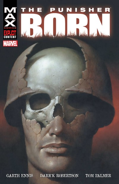 The Punisher MAX – Born (2003) (Fan Made TPB)