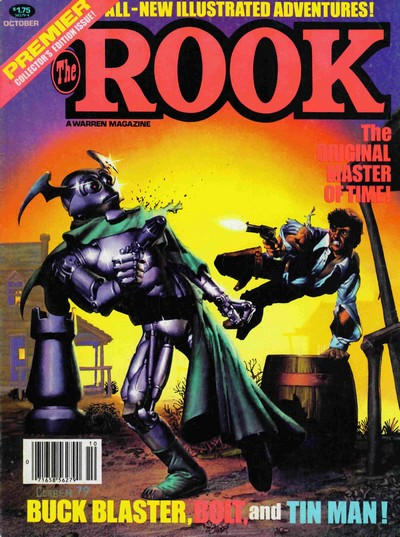 The Rook #1 – 14 (1979-1982)
