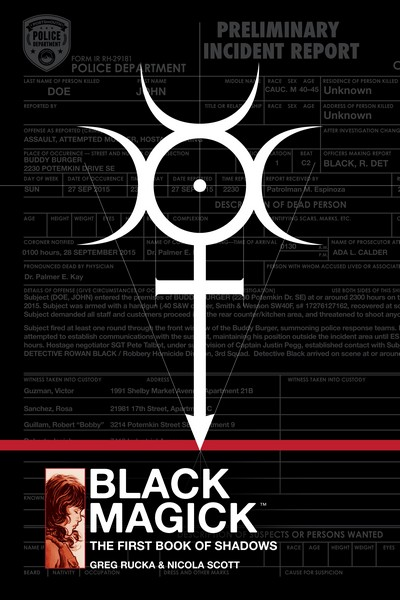 Black Magick – The First Book of Shadows (2019) (Omnibus)