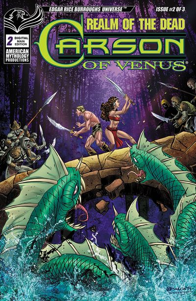 Carson of Venus – Realm of the Dead #2 (2020)