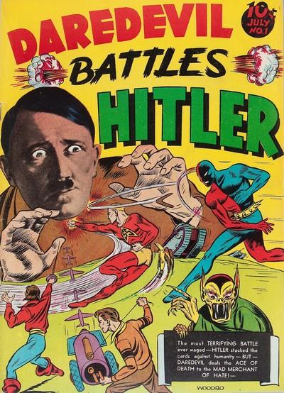 Daredevil Comics #1 – 134 (1941-1956)