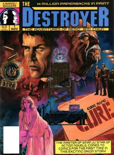 Destroyer Magazine Vol. 1 #1 – 9 (1989-1990)