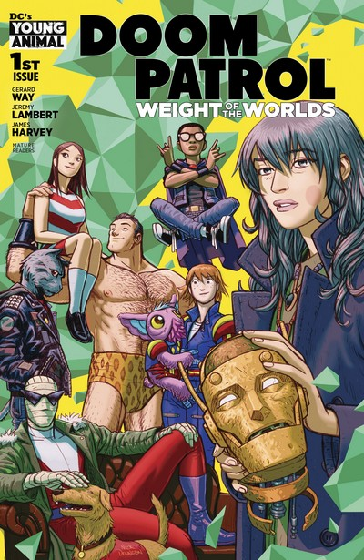 Doom Patrol – Weight of the Worlds #1 – 7 (2019-2020)
