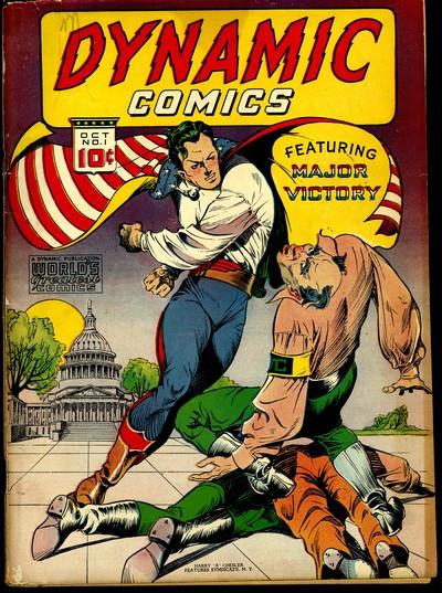 Dynamic Comics #1 – 24 (1941-1948)