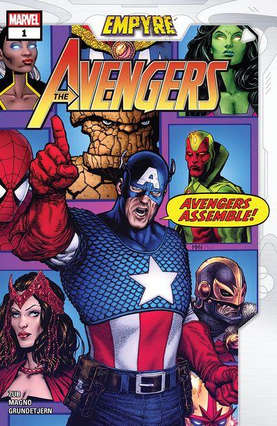 Empyre – Avengers #1 (2020)