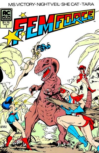 Femforce #1 – 148 (1985-2009)