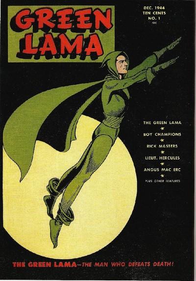 Green Lama #1 – 8 (1944-1946)