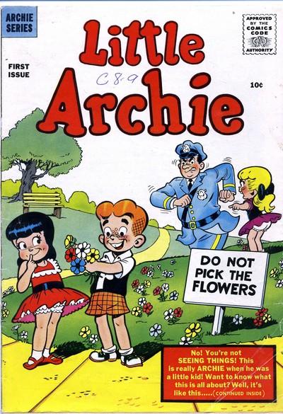 Little Archie + The Adventures of Little Archie #1 – 180 (1956-1983)
