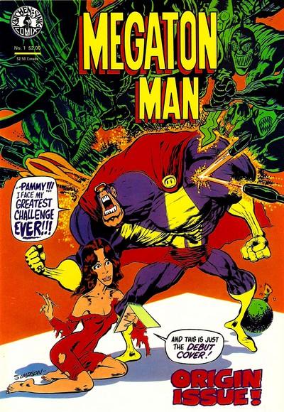 Megaton Man #1 – 10 (1984-1985)