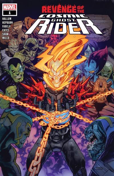 Revenge of the Cosmic Ghost Rider #1 – 5 (2020)