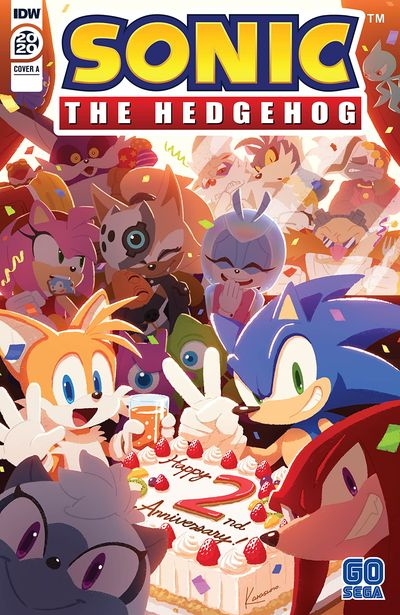 Sonic the Hedgehog Annual 2020 (2020)