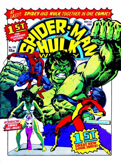 Spider-Man and Hulk Team-Up + Weekly #376 – 441 (1980-1981) (Marvel UK)