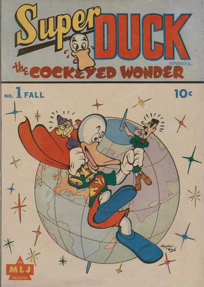 Super Duck Comics #1 – 94 (1944-1960)