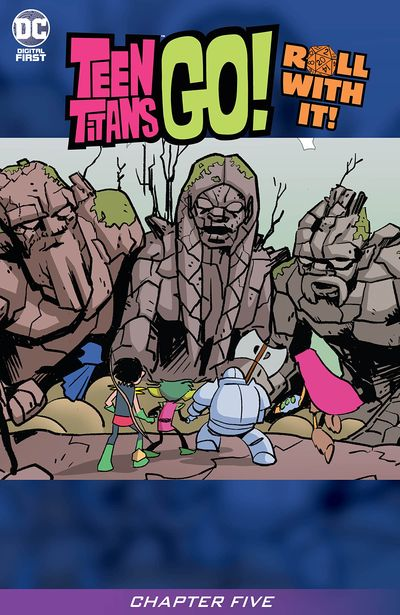 Teen Titans Go! Roll With It! #5 (2020)