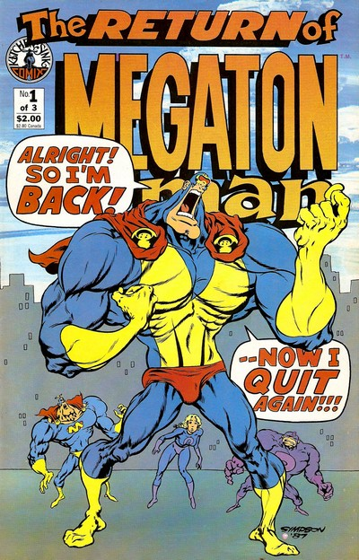 The Return of Megaton Man #1 – 3 (1988)