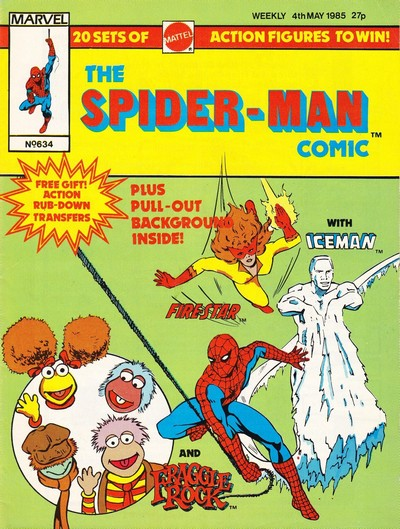 The Spider-Man Comic #634-650 (1985) (Marvel UK)