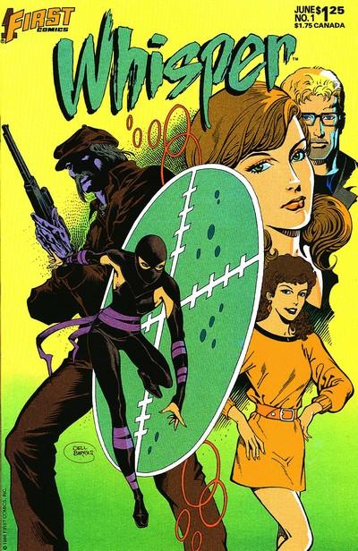 Whisper Vol. 2 #1 – 37 (1986-1990)