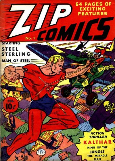 Zip Comics #1 – 47 (1940-1944)