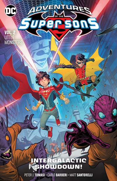 Adventures of the Super Sons Vol. 2 – Little Monsters (TPB) (2019)