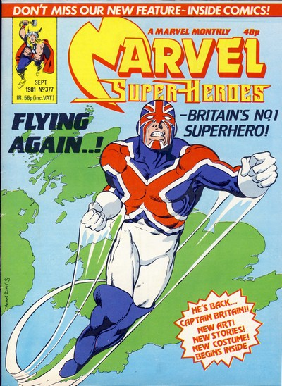 Captain Britain – Jaspers' Warp (also known as Crooked World) (1981-1984)