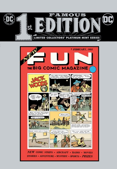 Famous First Edition – New Fun #1 C-63 (2020)