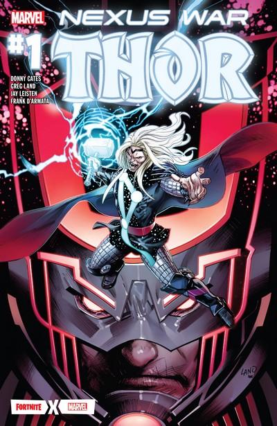 Fortnite x Marvel – Nexus War – Thor #1 (2020)