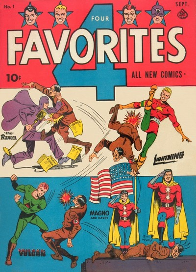 Four Favorites #1 – 32 (1941-1947)