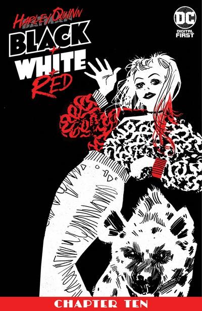 Harley Quinn Black + White + Red #10 (2020)