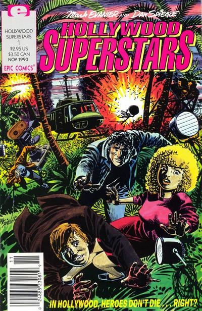 Hollywood Superstars #1 – 5 (1990-1991)