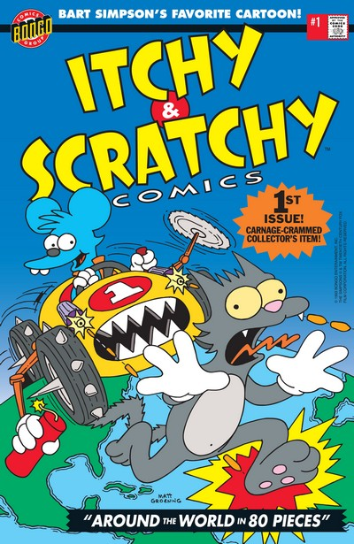 Itchy & Scratchy Comics #1 – 4 (1993-1994)