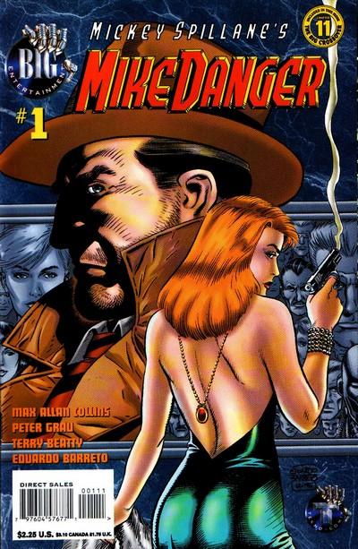 Mickey Spillane's Mike Danger #1 – 10 (1995-1996)