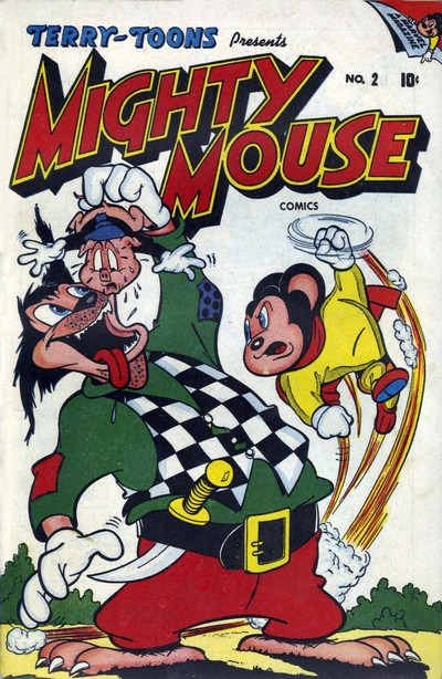 Paul Terry's Mighty Mouse Comics #2 – 71 (1946-1956)
