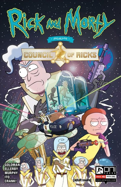 Rick and Morty Presents – The Council of Ricks #1 (2020)
