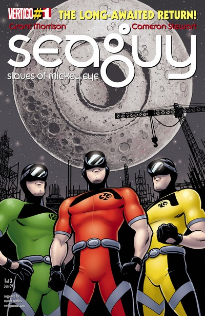 Seaguy – The Slaves of Mickey Eye #1 – 3 (2009)