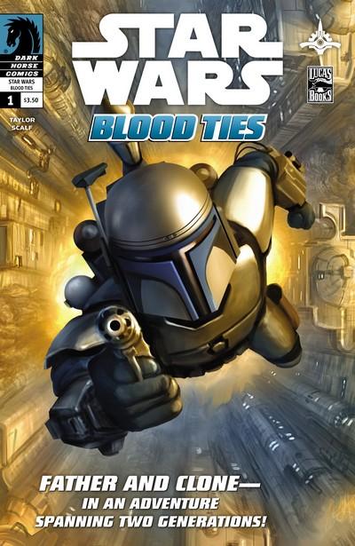 Star Wars – Blood Ties – Jango and Boba Fett #1 – 4 (2010)