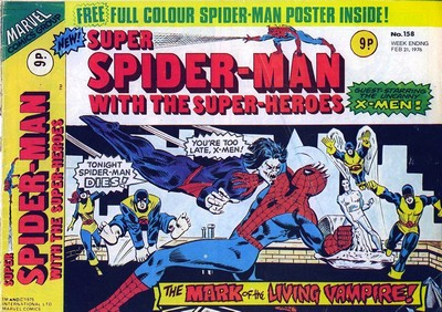 Super Spider-Man with the Super-Heroes #158 – 198 (1976)