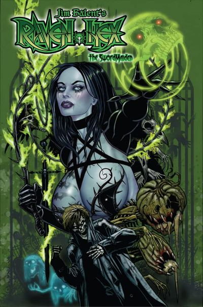 Tarot – Witch of the Black Rose #123 (2020)