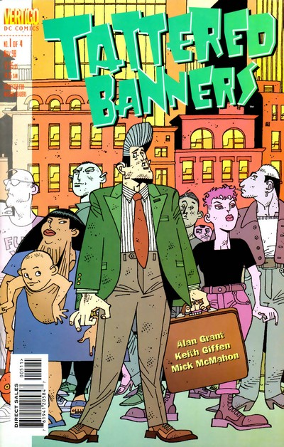 Tattered Banners #1 – 4 (1998-1999)