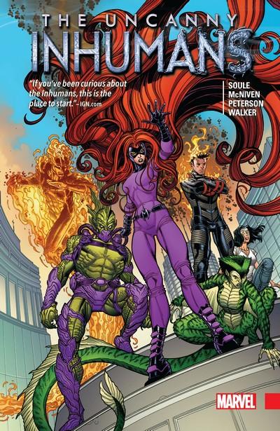 Uncanny Inhumans Collection Vol. 1 – 2 (2017) (Omnibus)