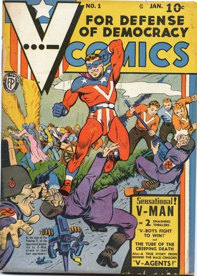 V-Comics #1 – 2 (1942)
