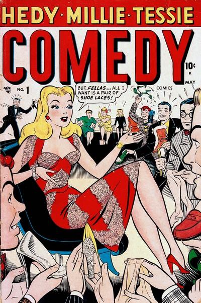 Comedy Comics #1 – 10 (1948-1950) (2nd Series)