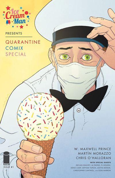 Ice Cream Man Presents – Quarantine Comix Special #1 (2020)